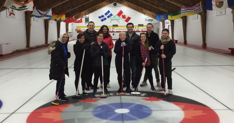 Researchers on Ice: Updates from Group Curling
