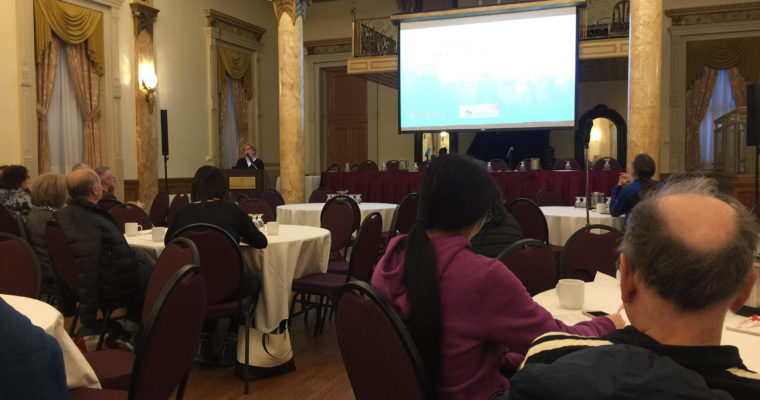 Dr. Ross Presents at Trottier Institute of Science and Public Policy Symposium