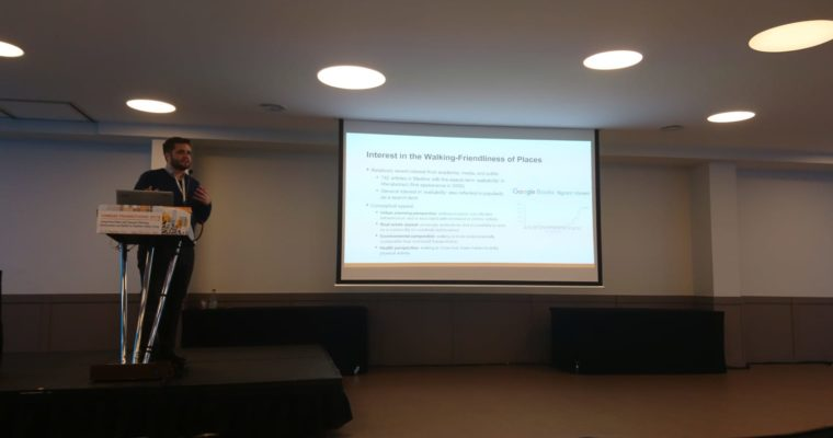 Group Member Thomas Herrmann Presents at the Urban Transitions Conference